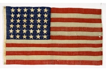Flags at the Smithsonian / In celebration of Flag Day, we've collected a variety of flags from all around the Smithsonian to explore and learn about. / by Smithsonian