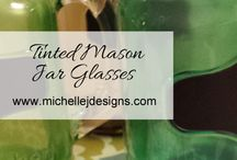 Mason Jar Crafts and Ideas / Mason jar crafts and ideas for home decor, holidays and events