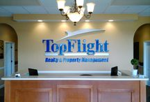 Introducing the New Building for TopFlight Realty and Property Management / Sleep easy at night knowing your property is being managed by Professional Property Mangers! Our exceptional property management services include, but not limited to: Tenant Screening (see Leasing) Tenant Communications and Correspondence Compliance with all State and Local Property Codes Coordinate all Maintenance Requests and so much more. In addition, TopFlight offers guarantees and protection programs to our Owners which help provide the comfort of knowing your investment is protected.