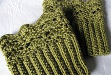 Crochet: Mitts/Gloves/Boot cuffs/Leg & Arm warmers / by Penny Lewis