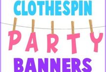 Party Banner Ideas! / by Cindy
