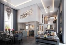 Kitchen-Living-Dining Room Inspiration