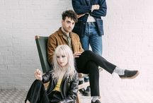 PARAMORE / Paramore is at least Hayley Williams, Taylor York and Zac Farro.