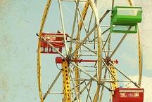 Amusement Parks - Ferris Wheels - Fun Rides / A Collection of Ferris Wheels, Fun Rides, Merry-Go-Rounds etc