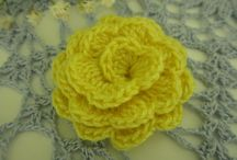 Crochet Flowers and Appliqués
