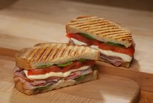 Erik's Panini Sandwiches / New! Panini Sandwiches at Erik's DeliCafe. These sandwiches will melt in your mouth. They are amazing! especially with a nice cup of soup. *at select DeliCafes