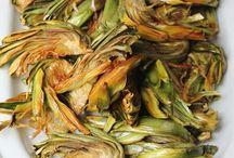 alcachofa frita