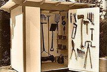 garden tool hut