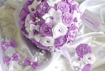Látkové kytice