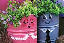 puutarhaan ideoita
