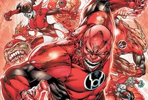 Official Art: Red Lantern Corps