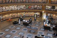 Libraries / World of book reading................
