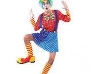 disfraces del circo como payasos
