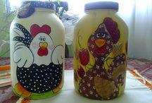 frascos y latas