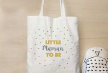 Canvas bag for True baby campaign