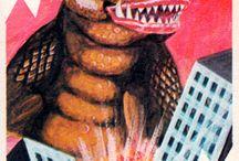 Kaiju playing cards