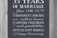 40 jarig huwelijk