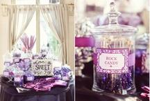 purple / Wedding