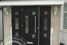 Solidor Messina Timber Composite Doors / Selection of images featuring the Solidor Messina Timber Composite Door installed by ourselves part of the Italia Collection