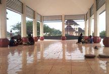 Rudat Banten / Salah bidang PKM adalah mengajarkan kembali kesenian musik tradisional bernama Rudat.