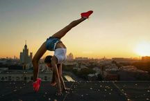 Photoshoot gymnastics