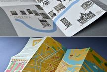 map illustration design