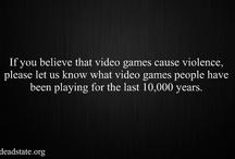Video Game Violence? Debate! / by A Brudner