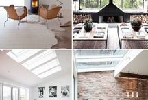 Modern house interiors