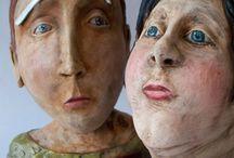 керамика лица