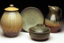 Fine Craft : Clay / Pottery  / Ceramic works from past & present Piedmont Craftsmen exhibiting members  ( artists / craftsmen ) / by Piedmont Craftsmen