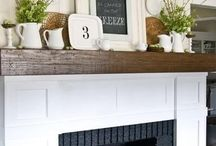 Mantle ideas / by Christy Patterson