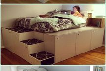 Space saving beds