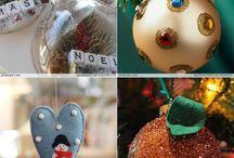Karácsonyi díszek / Kézzel készített ajándékok