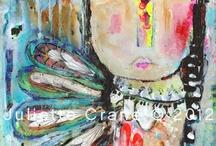 altered art/mixed media