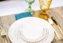 Table Scapes / Wedding Tablescape Ideas!