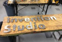 Made in the Studio! / These are some of the cool projects we've seen made in our space!