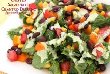 Salads / You can never have enough Salad. All kinds of yummy healthy options