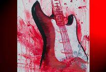 Pintura da guitarra