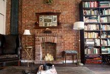 Brickwork / Exposed brick walls can add a lot to a property - just make sure you test a small area to see what your bricks are like before exposing the whole wall. Here's some good examples...