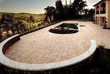 The Beauty of Paver Stones / Paver stones are not only aesthetically pleasing for your homes outdoor spaces but also have many benefits. Paver stones increase your homes curb appeal and overall value.  Compared to other types of paving like concrete and asphalt they are much more durable and longer lasting. View some of the beautiful options available for your home.