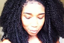 All natural hair beauty / Natural no relaxed hair  / by Elle Whyte