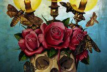 +Fieles difuntos+ / Pinturas y Artesanías del día de muertos de México y otrospaises / by Evelyn Salsan