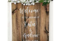 Wedding decor / Specific decorations and directions for Kapp/Hayes wedding
