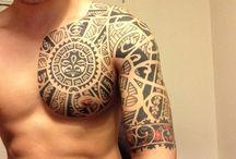 Tattoo-Tribal/aboriginal etc
