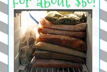Freezer Meals / by Linda Butler