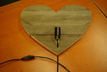 Gemaakt tijdens onze workshops lampen maken / Deze lampen zijn gemaakt tijdens onze workshops lampen maken door onze klanten