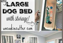 D.I.Y. Dog bed ideas