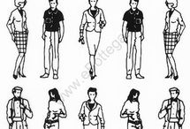 PEOPLE SKETCING -BODY