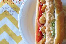 Recipes - Quesadillas, Tacos, Po Boys