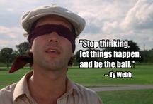 Caddyshack Golf Tournament Social Media content